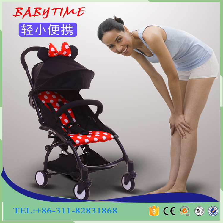 The Newest Design Stroller Baby Portable Stroller 2017 Baby Product OEM Factory Aluminum Baby Stroller