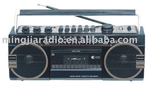 PX-148U 6V USB/SD CASSETTE TWO SPEAKERS AC/DC