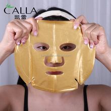crystal collagen 24k pure gold face mask whitening