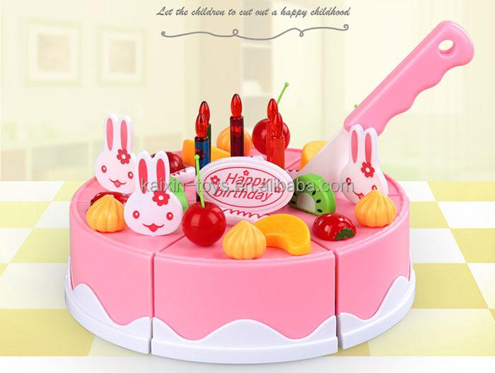 Keuken Voor Kinderen : Kinderen plastic speelgoed stks diy fruit verjaardagstaart
