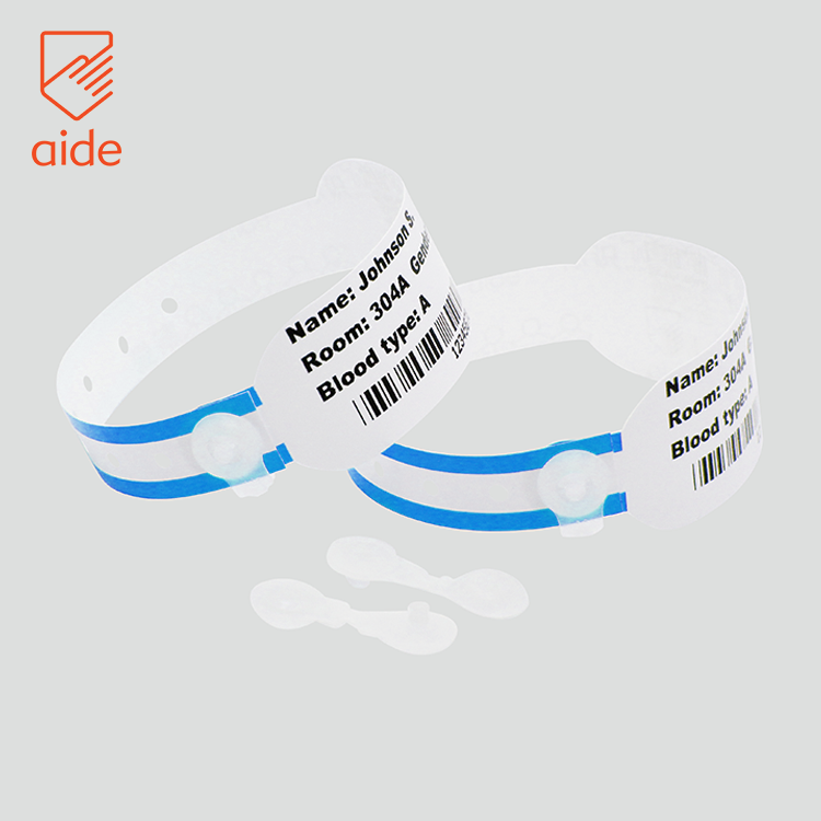 OEM And ODM Waterproof Medical Bracelets Identity Bands