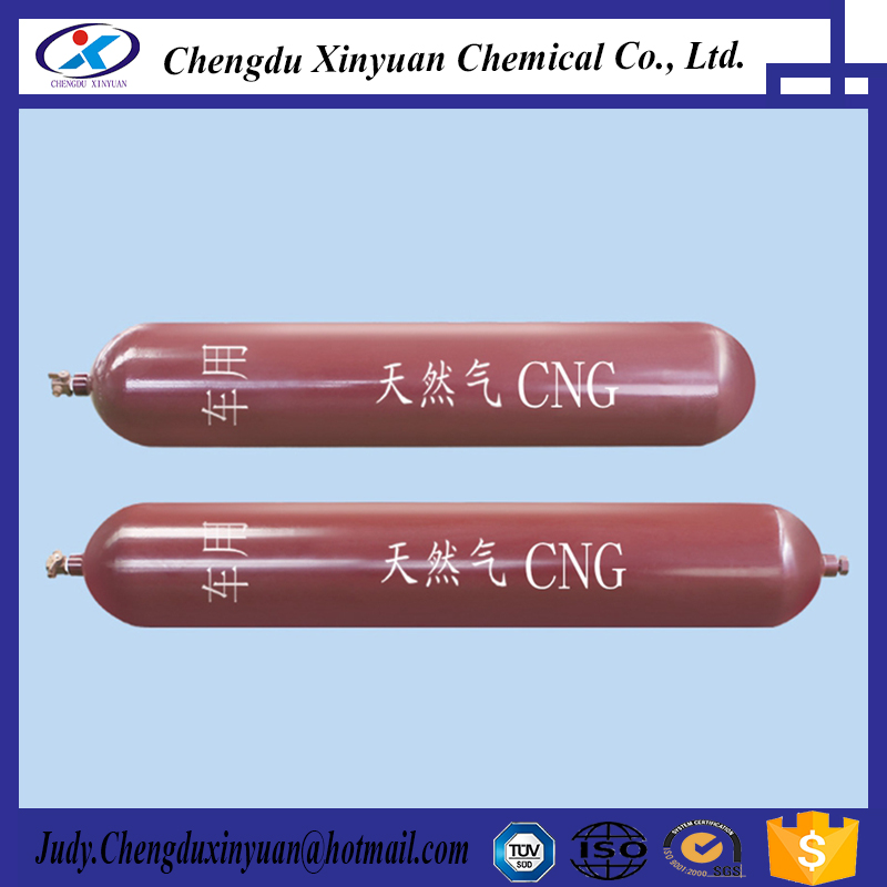Type 2 CNG gas steamless steel cylinder tank for car/bus/truck