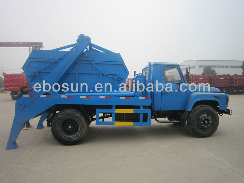 China 6cbm DFAC EQ1092 Garbage Bin Truck/dump refuse truck