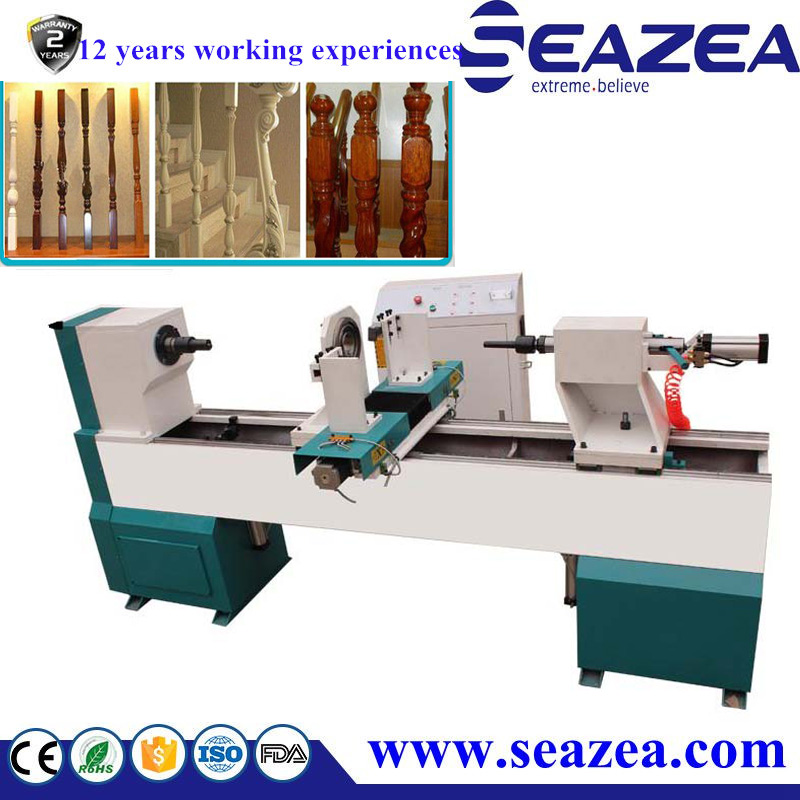 Fast speed woodworking lathe machine /automatic cnc wood copy turning lathe 3015
