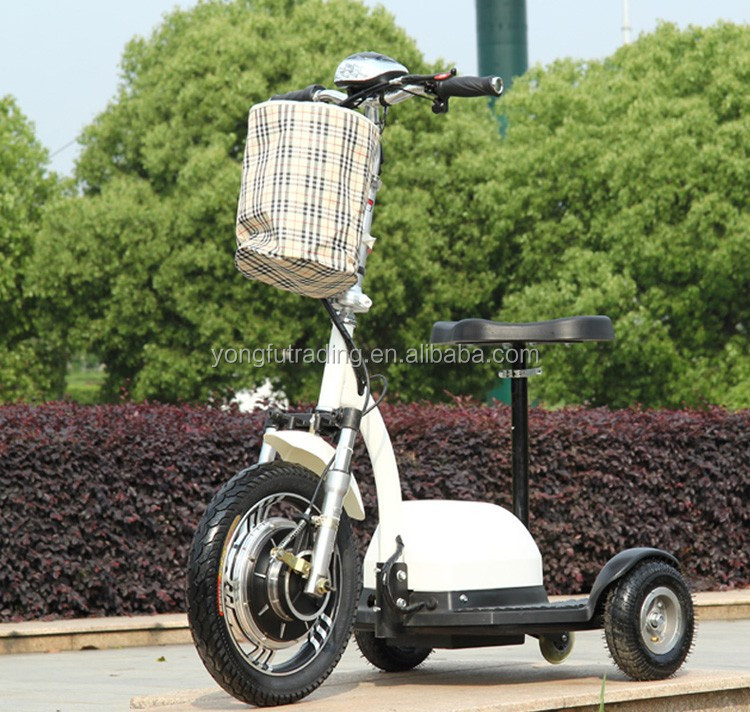 Assured, Adult electric three wheel scooters think