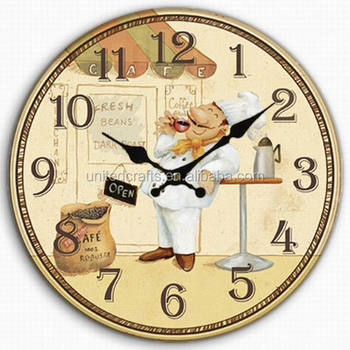 Vintage wooden clocks decorative wooden wall clock for Small clocks for crafts