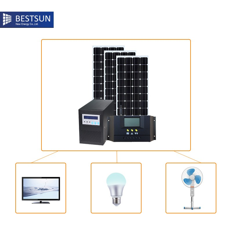 fait en chine syst me d 39 nergie solaire panneau solaire pour la maison climatiseur solaire. Black Bedroom Furniture Sets. Home Design Ideas