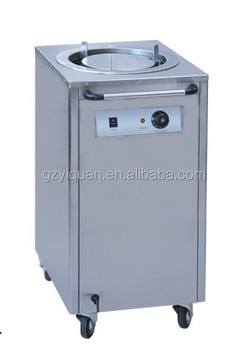 Industrial Kitchen Equipment Commercial Plate Warmer Cart