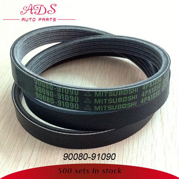 car v belt for high performance for land cruiser oem:90080-91090