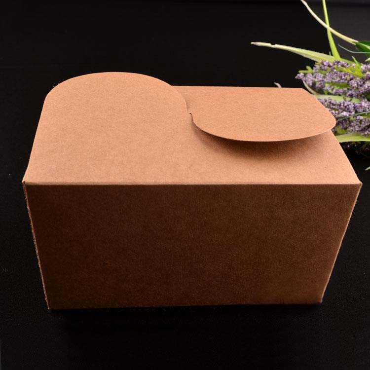 Elegant paper take away food packaging box