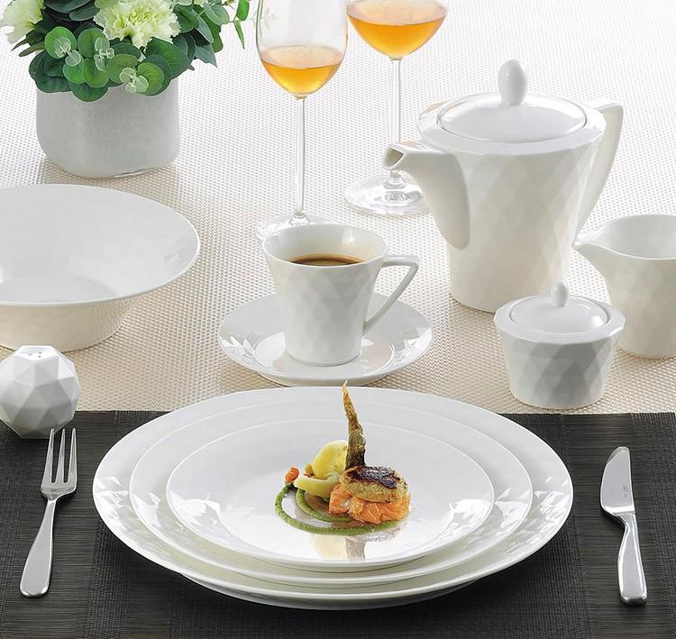Lb Seri Modern Porselen Dinner Set Pabrik Cina Barang Dapur