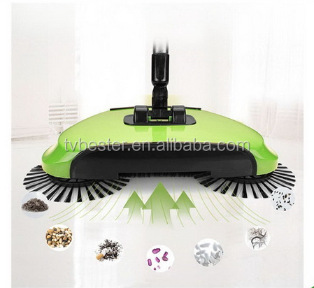 360 Degree Spinning Magic Broom Sweeping Machine Spin Broom