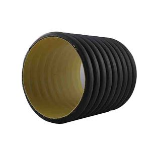 Standard Sizes and Dimensions SN4 SN8 Black 6 24 Inch HDPE Corrugated Drain Pipe
