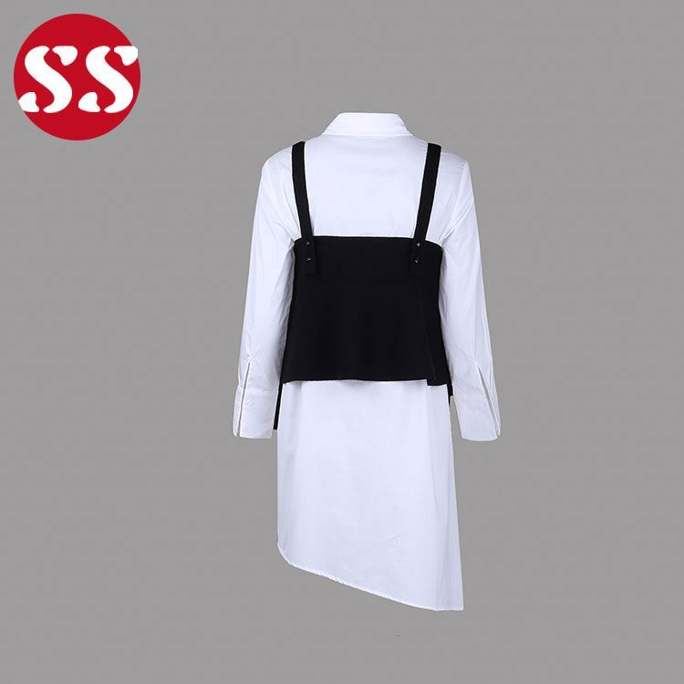 hot style lady sweater vest two piece sets woman clothing