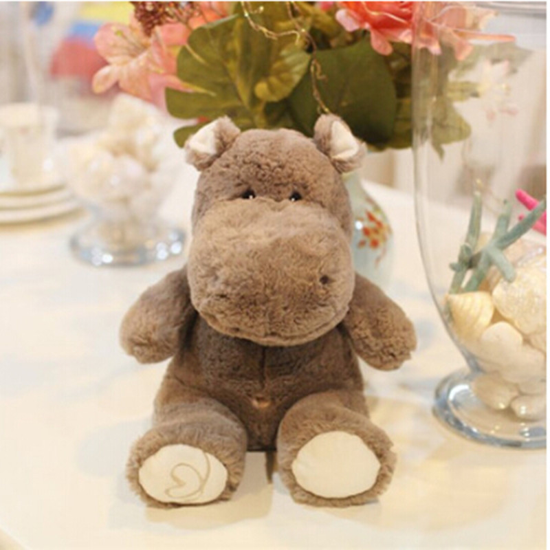 adroable dreamy creative hippo plush toy stuffed <strong>animals</strong> for girlfriend