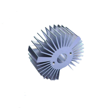 100w aluminum extrusions heatsink with anodized treatment