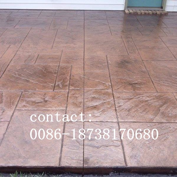 Rubber Concrete Stamp Paver Mould Buy Concrete Stamp
