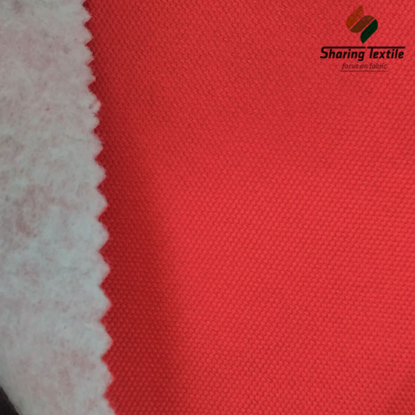 Factory 300D Or 600D Dty Pu Coated Oxford  Bonded Composite Laminated Compound No Woven Brushed Car Auto Sofa Seat Cover Fabric
