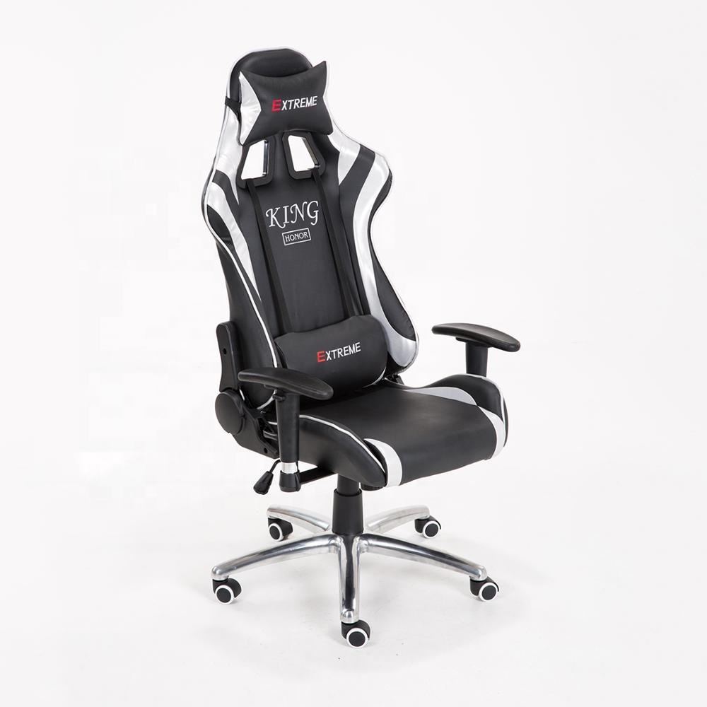 Cheapest china manufacture ps4 gamer gaming racing seat manufactures of chairs in Brazil with wheels swivel