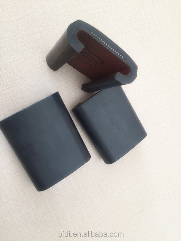 Elevator component for rubber hand strap belt with good quality