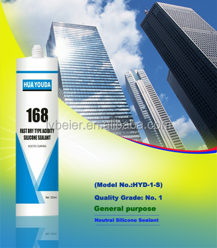 Structural marble curtain wall silicone sealant&adhesive with good price