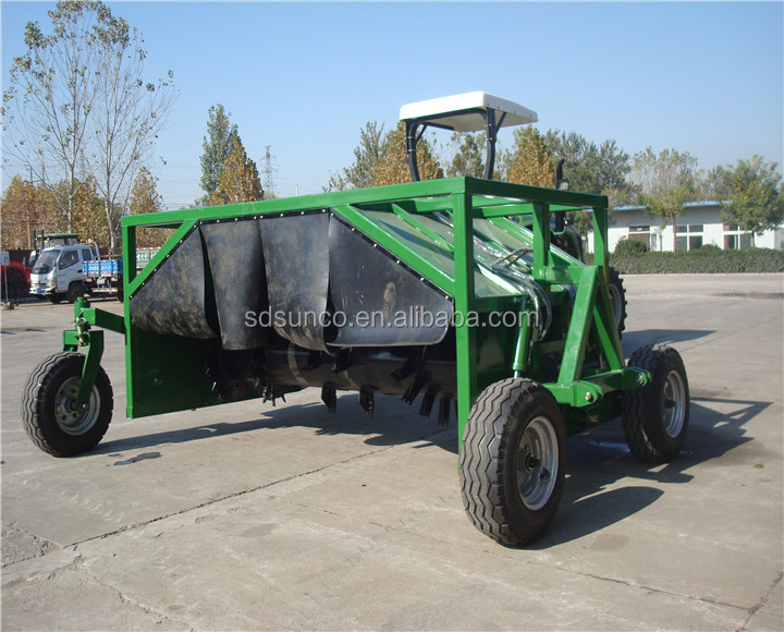 fertilizer Compost mixer Machine,hot in Chile,Peru,Thailand,Malaysia,Tractor rear mounted model