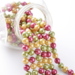 Alibaba crystal glass pearl beads for jewelry making