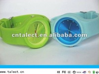 waterproof silicone watches for unisex print your logo from China factory