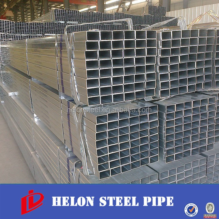 hot dipped galvanized carbon steel oblong pipe/tube