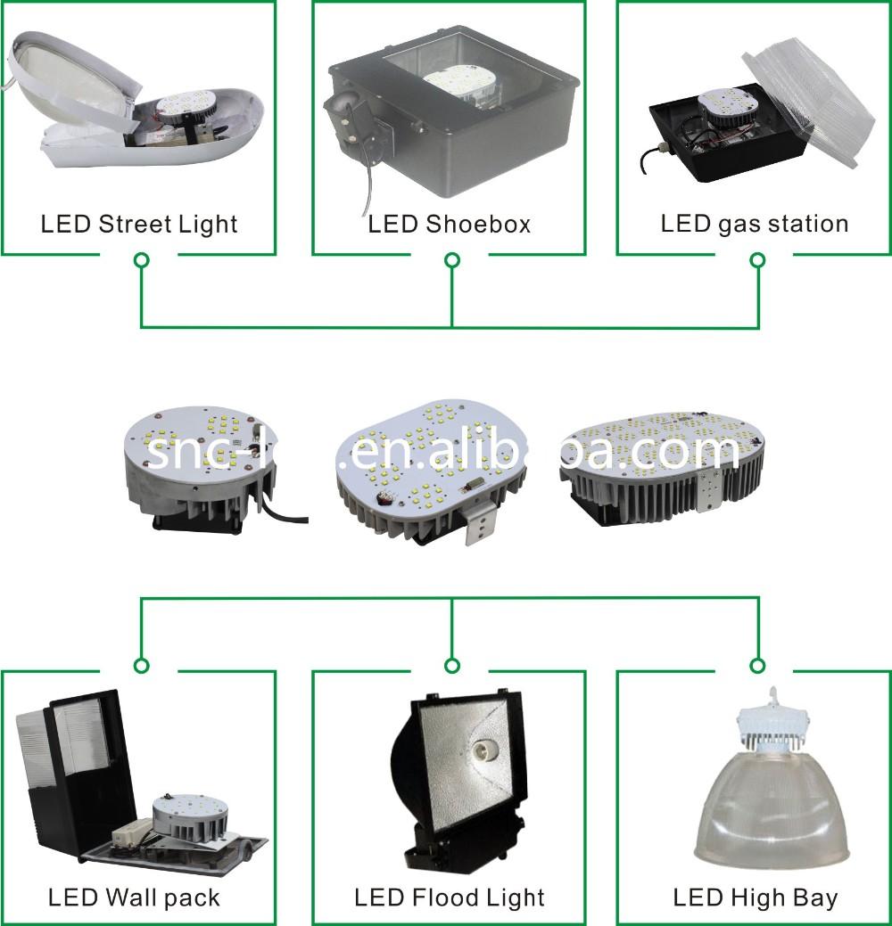 Led High Bay Light Meaning: Led Replace 400 Watt Metal Halide 120w Led Shoebox
