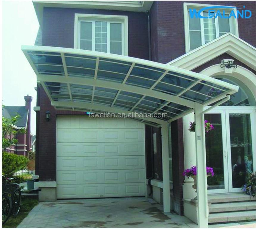 Metal Carport Kits Product : Metal carport kit car awning with polycarbonate panel