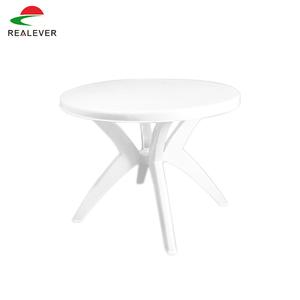 Round White Plastic Garden Table Supplieranufacturers At Alibaba