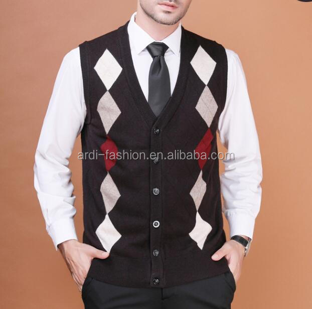 China Button Sweater Vest, China Button Sweater Vest Manufacturers ...