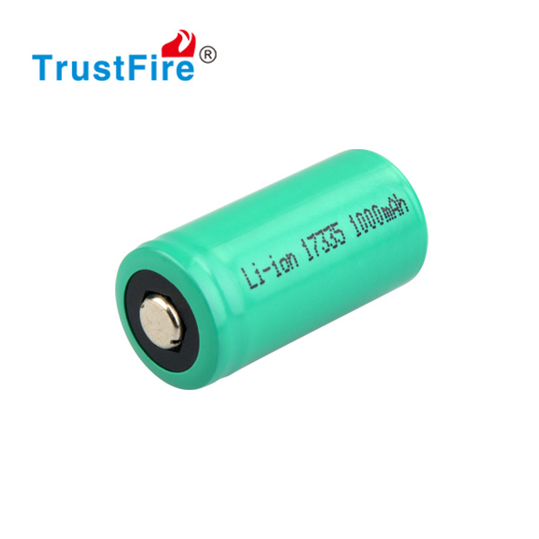 rechargeable CR123A 3.0V battery Lithium ion