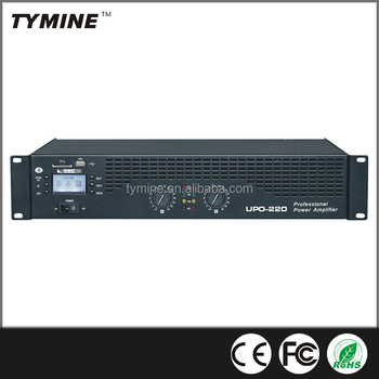 Tymine Hot Sale Professional Power Amplifier with bluetooth and USB/MP3