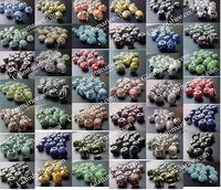 Wholesale 100 PCS SILVER CORE MURANO BEADS FIT