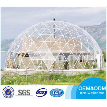 high quality transparent round marquee party wedding geodesic dome tent