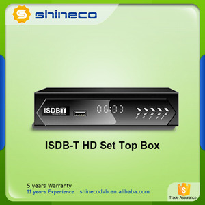ISDB-T Receiver MPEG4 H.264 ISDB-T STB for South America