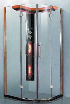 2 persone cabina doccia a vapore vapore con riscaldatori a raggi