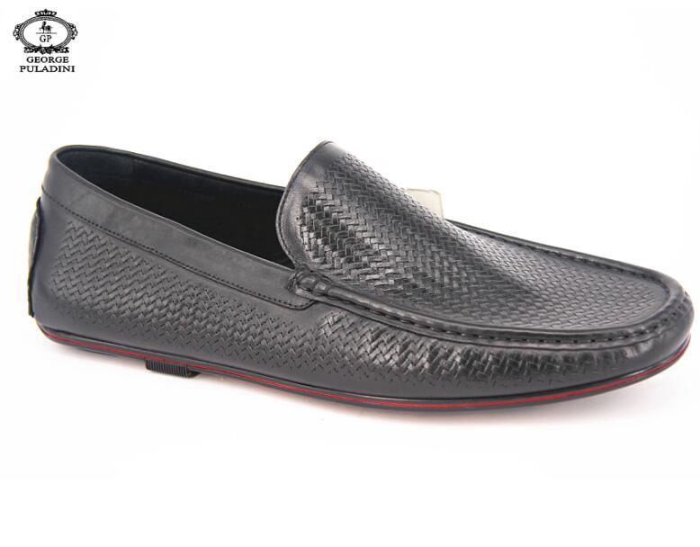Driving genuine shoes casual Men Men leather Shoes w4qx4nO