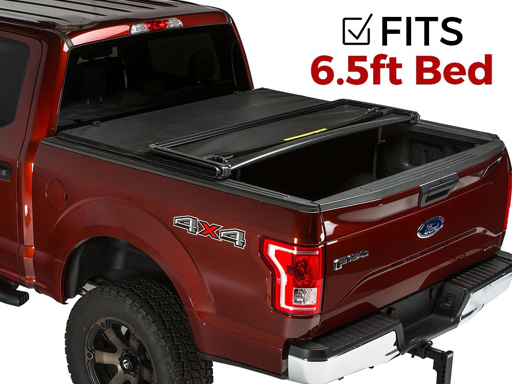 Gator Tri-Fold Tonneau Truck Bed Cover 2015-2018 Ford F150 6.5 Bed