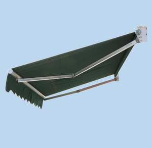 window hand crank Aluminum Arm Retractable Awnings without powder coated