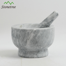 100% <span class=keywords><strong>piedra</strong></span> <span class=keywords><strong>de</strong></span> <span class=keywords><strong>mármol</strong></span> Natural <span class=keywords><strong>mortero</strong></span> para Herb Grinder
