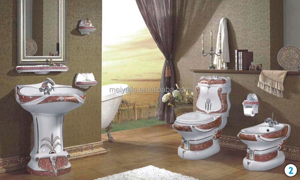 Hot Sale Sanitary Ware Morden Design Two Pieces Washdown