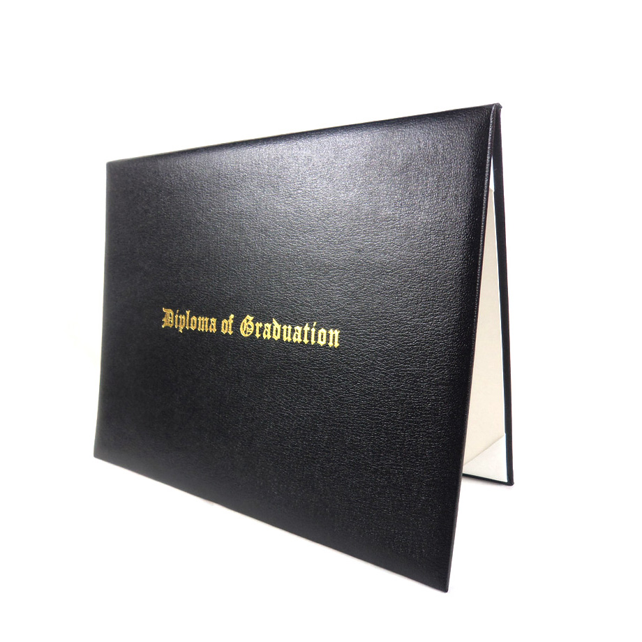High Quality Custom Leather Padded Diploma Cover Degree Certificate Holder Buy Diploma Cover Degree Certificate Holder Diploma Holder Product On