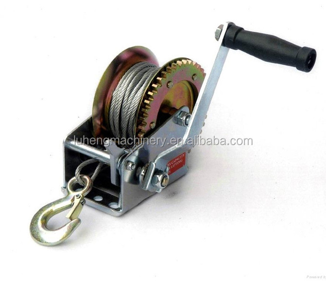 1500lbs fishing winch,small boat winch,manual winch