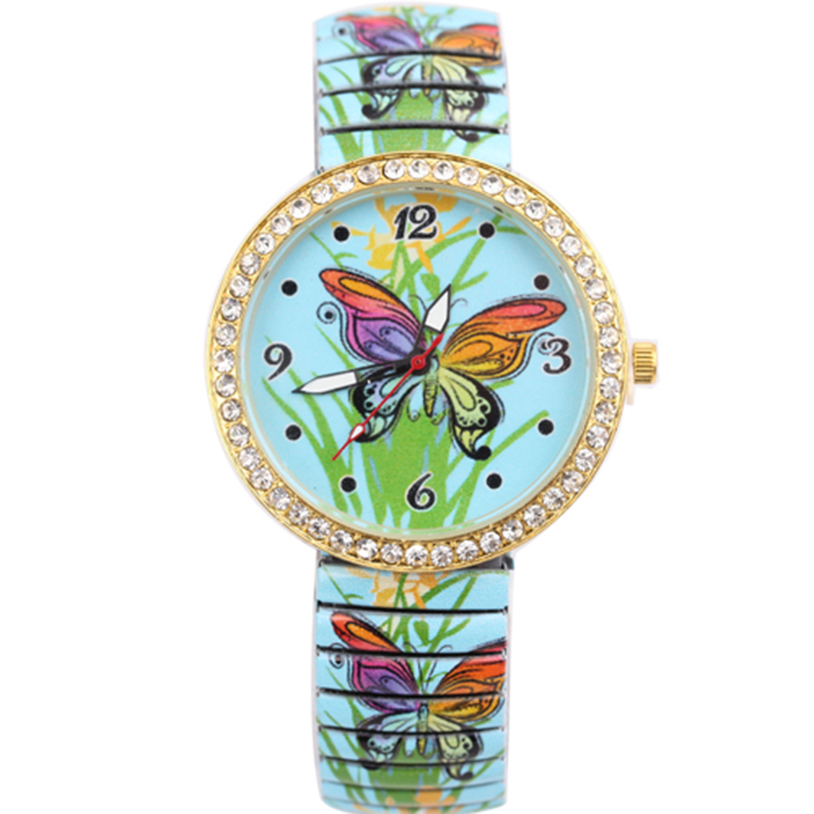 Hot sell special luxury wrist watch for women quartz spring watch customs wholesale nurses watch
