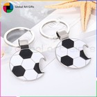 Manufacture custom keychain bottle opener with soccer