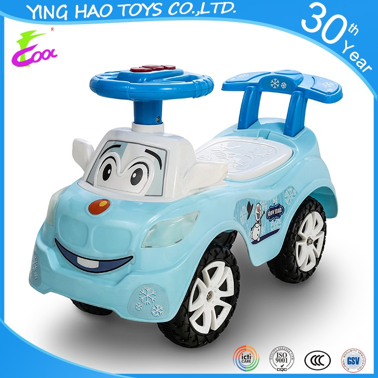 New 2 In 1 Baby Swing Sliding Racing Car Ride On Toddler Kids Push Car Toys