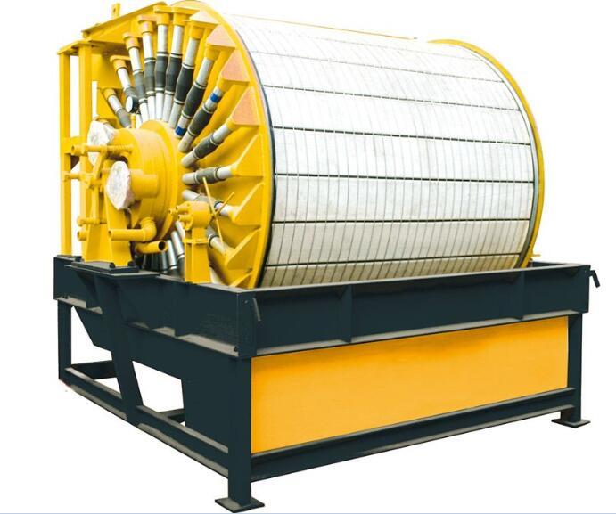 Permanent Magnet Drum Vacuum Filter-rotary vacuum permanent magnet filter